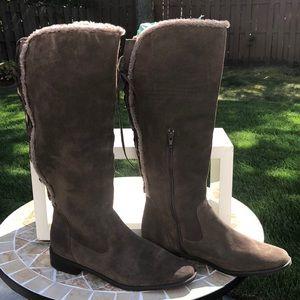 Anne Klein Suede Boots